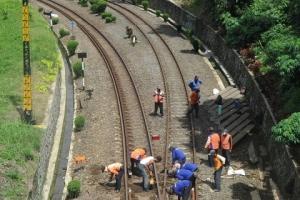 Dishub Pantau Pengerjaan Jalur Ganda KA Sukabumi-Bogor