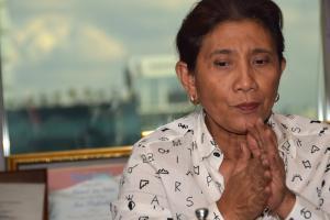 Soal Nasib Nelayan, Susi Kecewa kepada Pemkab Cianjur
