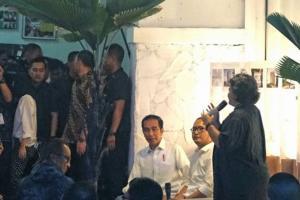 Jokowi Temui Masyarakat Kreatif Bandung di Simpul Space BCCF