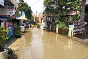 Kabupaten Bandung Dikepung Banjir, Ratusan Warga Mengungsi