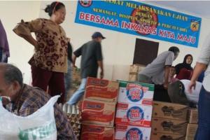 Bantuan Mulai Berdatangan untuk Pengungsi Banjir Bandung