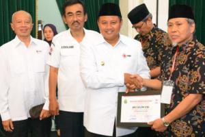 144 Warga Jabar Terima Penghargaan dari PMI Jabar