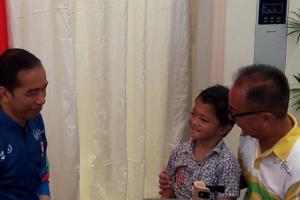 Harapan Bocah Difabel ke Jokowi: Ingin Sekolah hingga Perguruan Tinggi