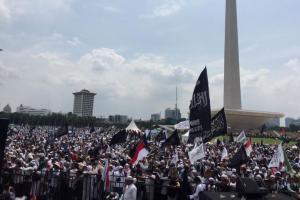 Reuni 212 Lancar, Tudingan Rezim Jokowi Anti-Islam Terbantahkan