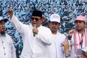 Reuni 212 Memang Dimaksudkan untuk Dukung Pencalonan Prabowo