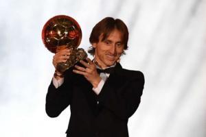 Raih Ballon d'Or, Luka Modric Putus Dominasi Messi-Ronaldo