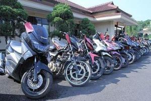 Gratis, 40 Motor Curian di Indramayu Dikembalikan ke Pemiliknya
