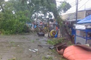 Ratusan Rumah  di Bogor Rusak Diamuk Puting Beliung