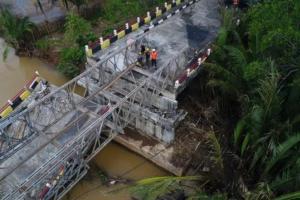 Jembatan Lintas Jabar Selatan Masuki Tahap Penyelesaian