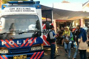 Catat, Ini Jadwal SIM Keliling  di Bandung Hari Ini