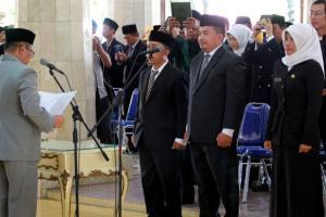 Pemerintah Kabupaten Indramayu Rotasi 104 Pejabat