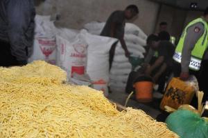 Gunakan Bahan Kimia Agar Awet, Pabrik Mi Basah di Cianjur Digerebek