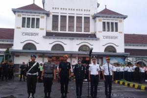 KAI Cirebon Siagakan 352 Personel Keamanan Selama Nataru