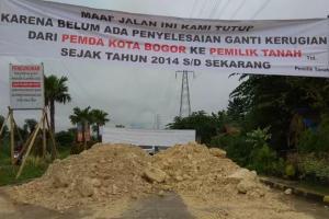 Pemkot Bogor Tutup Jalan 'Regional Ring Road'