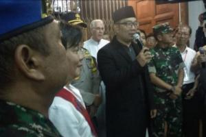 Ridwan Kamil Ajak Umat Kristiani Doakan Korban Tsunami