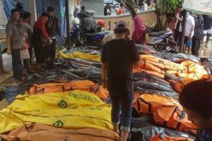 Korban Tsunami Selat Sunda Capai 429 Jiwa, 154 Orang Hilang