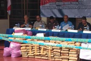BNN Jabar Ungkap Produksi Ganja Sintetis di Lapas Banceuy