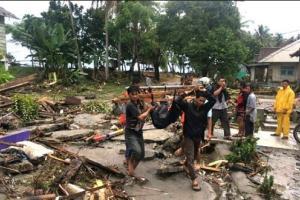 Korban Tewas Tsunami di Selat Sunda Bertambah, Total 429 Orang
