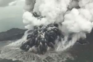Dentuman Misterius Tak Terkait Erupsi Anak Krakatau