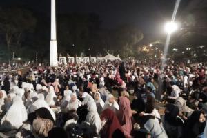 Tahun Baru di Bogor, Warga dan Pejabat Pemkot Pilih Doa Bersama