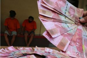 Polresta Bogor Tangkap 2 Pelaku Pemalsuan Uang, Barang Bukti Rp150 Juta