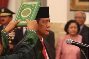 Letjen TNI Doni Monardo Resmi Jabat Kepala BNPB