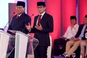 Debat Capres 2019, Prabowo Ungkit Kades Ditahan karena Dukung Paslon 02