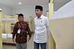 Jokowi Cek Pembangunan Pesantren Rp6,9 M di Garut