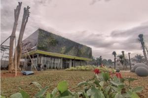 Pembangunan Alun-Alun Kota Depok Sudah 98 Persen