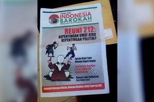 Ribuan Eksemplar Tabloid Indonesia Barokah Masuk Karawang