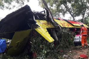 Kecelakaan Maut di Tol Cipularang KM 70, 7 Orang Tewas