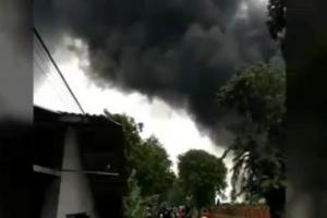 Netizen Heboh soal Kebakaran di Pertamina Balongan Indramayu