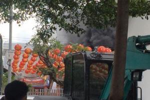 Vihara di Jalan Kelenteng Bandung Terbakar