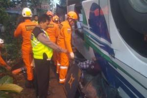Kecelakaan Maut di Bandung, Diduga Sopir Kurang Konsentrasi