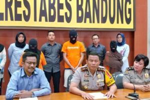 Polrestabes Bandung Gagalkan Penjualan Anak di Bawah Umur