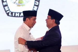 Survei: Elektabilitas Prabowo Hanya Tertinggal 3,93 Persen dari Jokowi