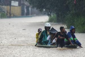 Banjir, Ketinggian Air di Kampung Cigosol Baleendah Capai 160 Cm