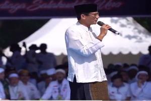 Isra Mi'raj: Sandiaga Berharap Indonesia Damai