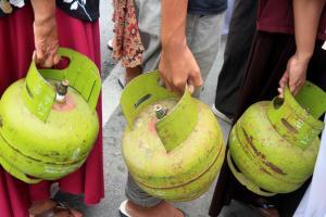 Tabung gas melon meledak di Tasikmalaya