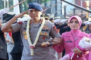 Wilujeng sumping Kapolda Jabar Irjen Rudy Sufahriadi