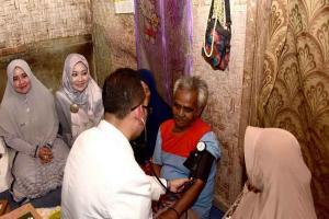 Atalia Praratya Resmikan Buka Berkah Ramadhan