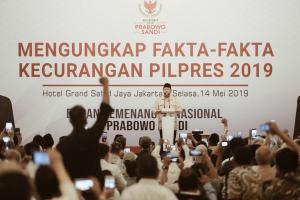 BPN Mengungkap Fakta-Fakta Kecurangan Pilpres 2019
