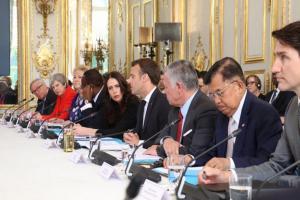 JK Sampaikan Tiga Fokus Berantas Terorisme di KTT Paris