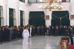 Gubernur Jabar Minta Plt Bupati Cirebon Fokus Ke Masa Depan