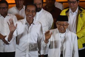 Partai Koalisi Ucapkan Selamat ke Jokowi-Ma'ruf