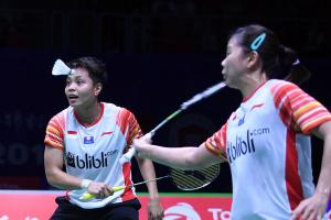 Skor 2-2, Ganda Putri Indonesia Imbangi Taiwan