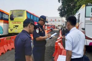 'Ramp Check' di Terminal Baranangsiang, 16 Bus Laik Jalan