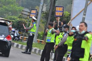 Target 'Zero Accident' Polres Sukabumi Tercapai