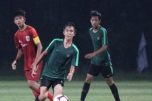 Bekasi Selection U-15 Unjuk Kebolehan Lawan U-16