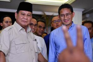 Mahkamah Agung Tolak Permohonan Prabowo - Sandiaga